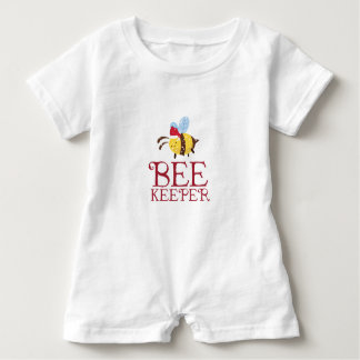Bienen-Wächter-Weihnachtsausgabe Baby Strampler