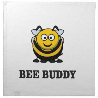 Bienenfreundbiene Stoffserviette