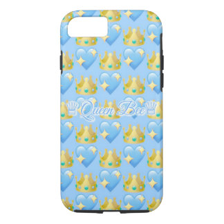 Bienenkönigin (blaues) | Apple iPhone 7, starker iPhone 8/7 Hülle