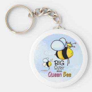 Bienenkönigin - große Schwester keychain Schlüsselanhänger