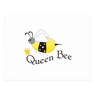 Bienenkönigin Postkarte
