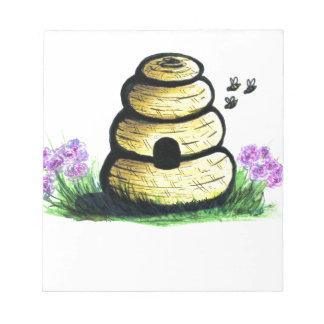 Bienenstock Notizblock