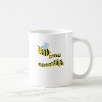 Bienentween-Beziehungen Kaffeetasse