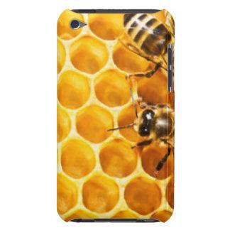 Bienenwabe und Bienen-Muster-Entwurf iPod Touch Hülle