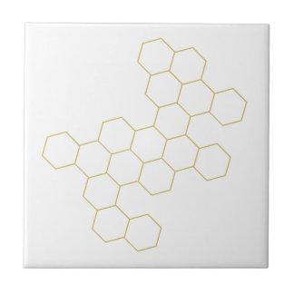 Bienenwabe vereinfachte geometrischen keramikfliese