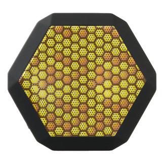 Bienenwaben-Gewohnheit Schwarze Bluetooth Lautsprecher