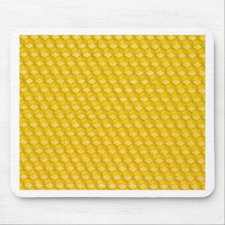 Bienenwaben-Hintergrund-Geschenk-Schablone Mauspad