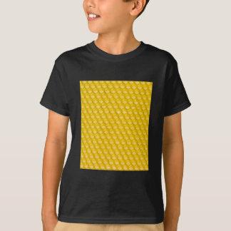 Bienenwaben-Hintergrund-Geschenk-Schablone T-Shirt
