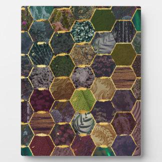 Bienenwabenmeerjungfrauskalen Fotoplatte