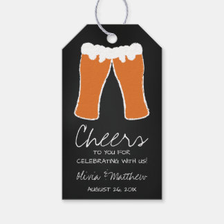 Bier danken Ihnen zu etikettieren, Umbau zu Geschenkanhänger