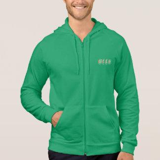 BIER doppelte Vision - grün, orange, weiß Hoodie