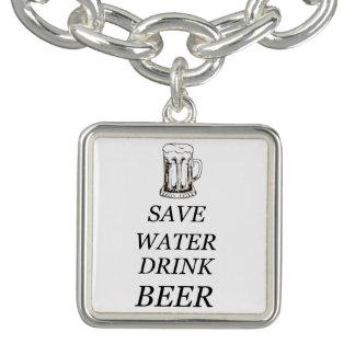Bier-Getränk-Nahrung Charm Armband
