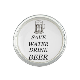 Bier-Getränk-Nahrung Ringe
