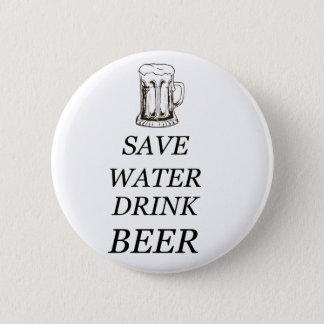 Bier-Getränk-Nahrung Runder Button 5,7 Cm