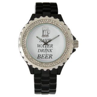 Bier-Getränk-Nahrung Uhr
