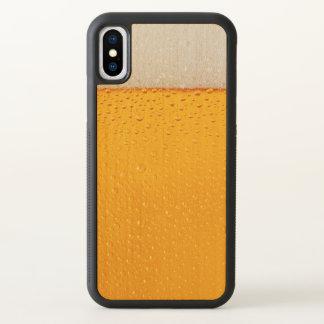 Bier-Glas-Nahaufnahme lustig iPhone X Hülle