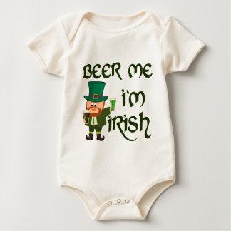 Bier ich, bin ich irisch baby strampler