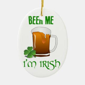 Bier ich bin ich irisch keramik ornament