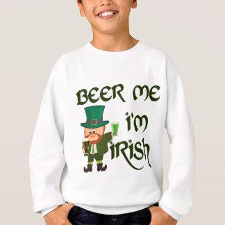 Bier ich, bin ich irisch sweatshirt
