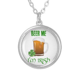 Bier ich bin ich irisch versilberte kette