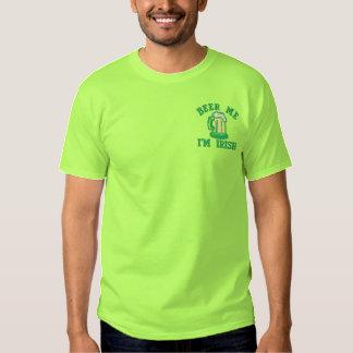 Bier ich bin ich irisches lustiges Irland Besticktes T-Shirt