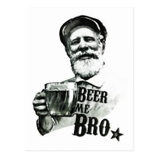 Bier ich Bro. Postkarte