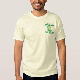 Bier ich Im irisches lustiges Irland Trinken Besticktes T-Shirt