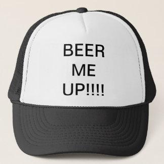 Bier ich oben truckerkappe
