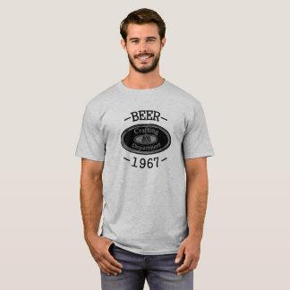 Bier-in Handarbeit machende Abteilung T-Shirt