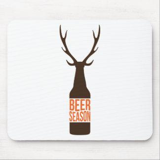 Bier-Jahreszeit Mousepad