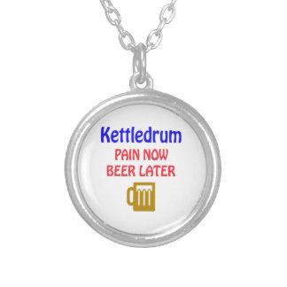 Bier Kettledrum Schmerz jetzt später Versilberte Kette