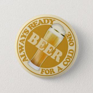 BIER-Knopf Runder Button 5,1 Cm