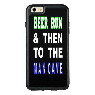 Bier laufen gelassen u. dann zur Mann-Höhle OtterBox iPhone 6/6s Plus Hülle