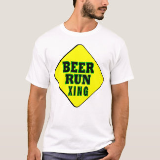 Bier-Laufüberfahrt T-Shirt