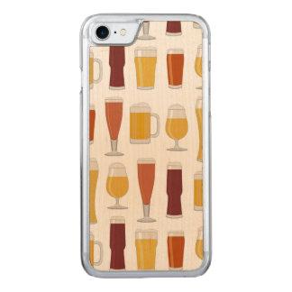 Bier-Liebhaber-Druck Carved iPhone 8/7 Hülle