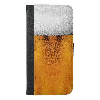 Bier-Liter-Oktober-Festivalstein-Bernstein iPhone 6/6s Plus Geldbeutel Hülle