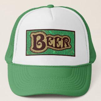 Bier-Logo - tadelloser GreenTexture Blick Retromützen
