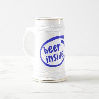 Bier nach innen bierglas