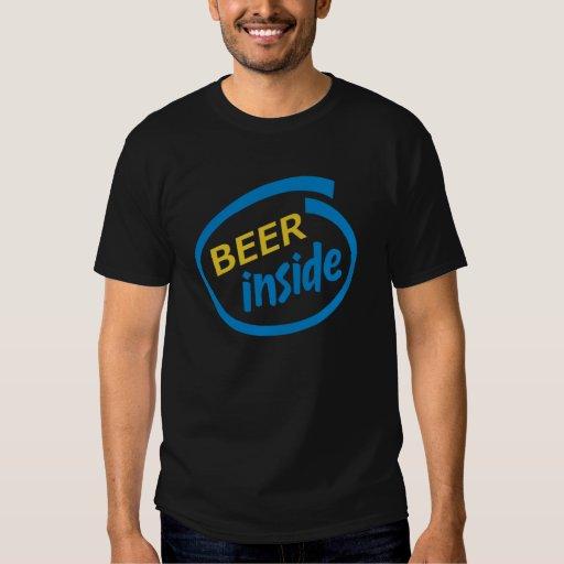 Bier nach innen hemd
