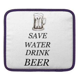 Bier-Nahrungsmittelgetränk iPad Sleeve