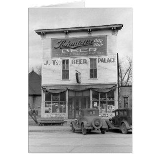 Bier-Palast Tavern, 1940 Karte