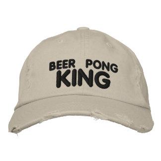 Bier Pong König Bestickte Kappe