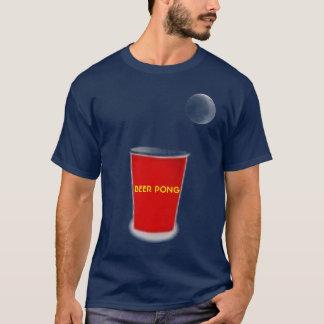 BIER PONG ORDNET T - Shirt an