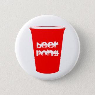 Bier pong runder button 5,1 cm