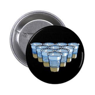 Bier pong runder button 5,7 cm