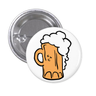 Bier Runder Button 2,5 Cm