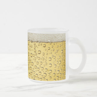 Bier-Seifenlösungs-Blasen-mattierte GlasTasse Matte Glastasse