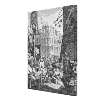 Bier-Straße, 1751 Gespannte Galerie Drucke