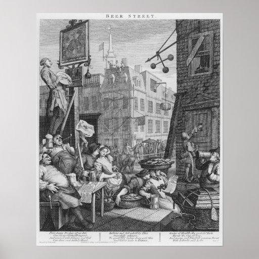 Bier-Straße, 1751 Plakate