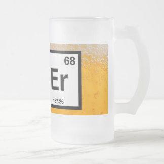 Bier-Tasse Mattglas Bierglas